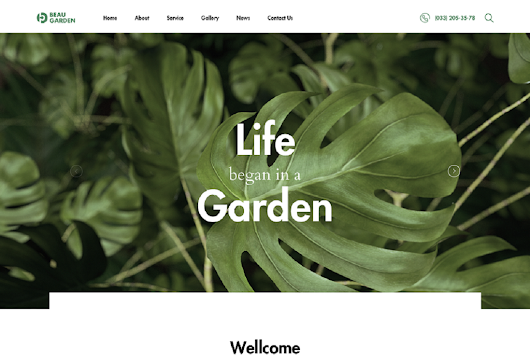 Some Powerful Gardener WordPress Theme 2017