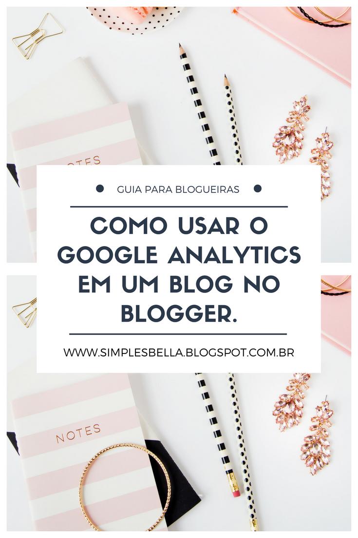 Como colocar o Google Analytics em um blog no Blogger