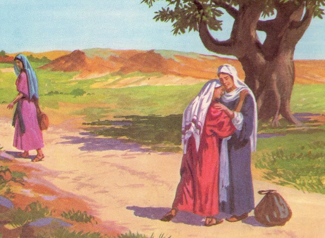 A justa convertida Ruth