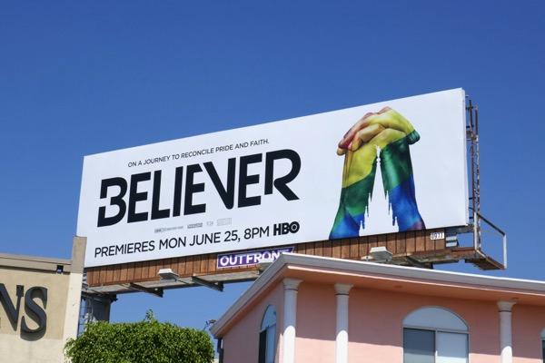 Believer HBO documentary billboard