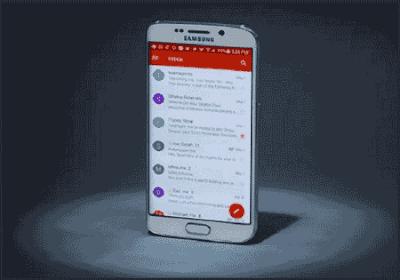 Contohnya Buat Email Baru lewat hp Samsung Langsung Jadi