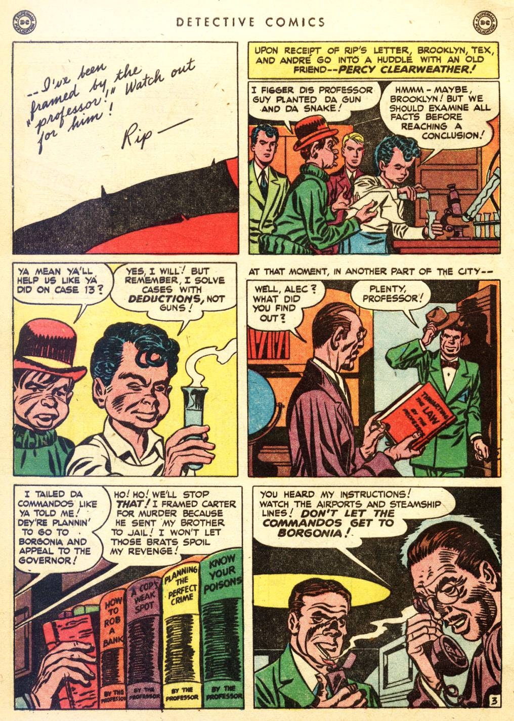 Read online Detective Comics (1937) comic -  Issue #128 - 40