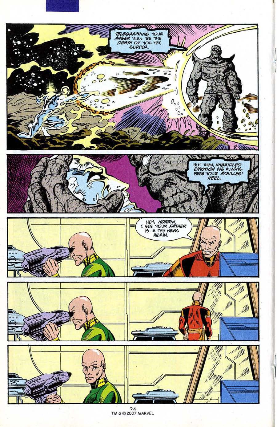 Read online Silver Surfer (1987) comic -  Issue #50 - 26