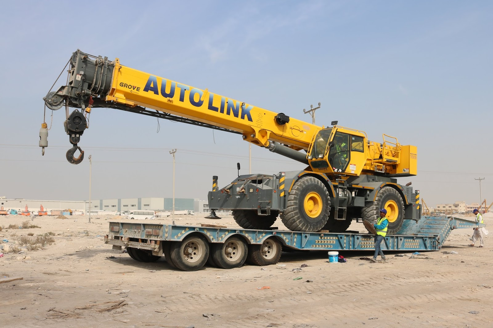 Crane rental agency - Crane supplier in Qatar -Autolink International