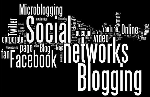 Los Blogs y Las Redes Sociales Combinados