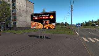 ets 2 real advertisements v1.3 screenshots, russia 2
