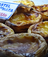 When cycling Portugal, eat delicious custard tarts from Lisbon
