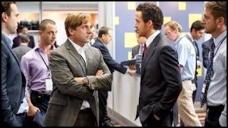 Steve Carell y Ryan Gosling en La gran apuesta (Adam McKay, 2015)
