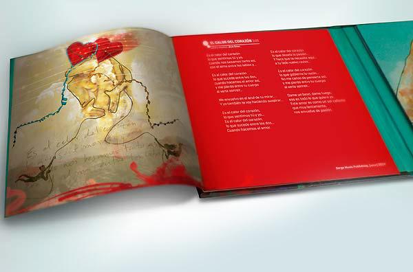 Todo empieza soñando de Julio César; diseño de empaque para el disco