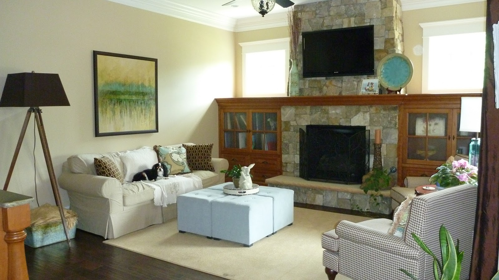 How To Arrange Living Room With Tv Above Fireplace Wall Paint Designs For Decor You Adore Hanging The Over Be Or Not