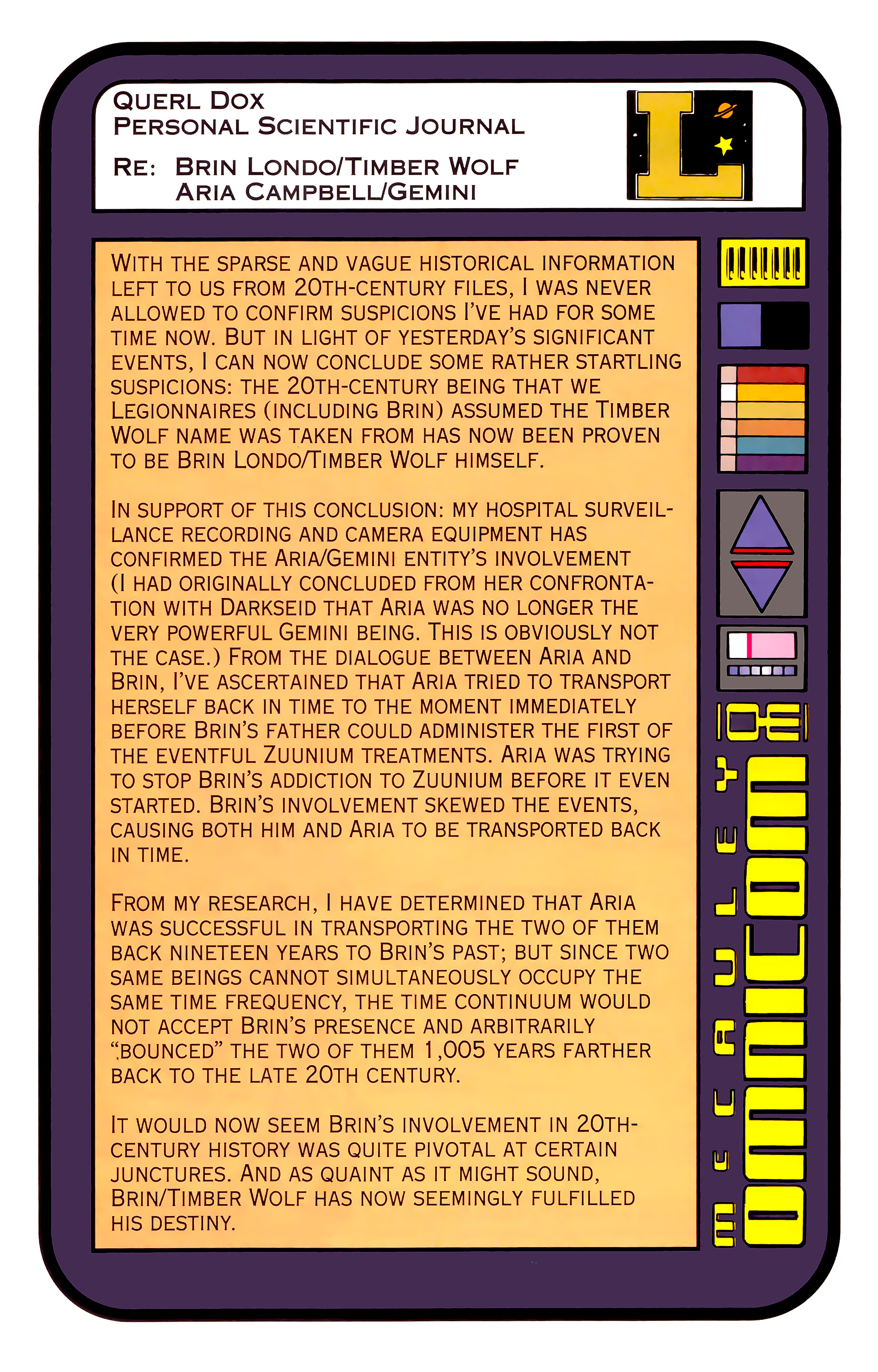 Legion of Super-Heroes (1989) _Annual_3 Page 27
