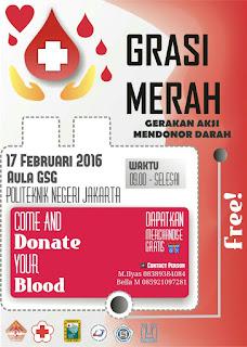 Donor Darah Februari 2016