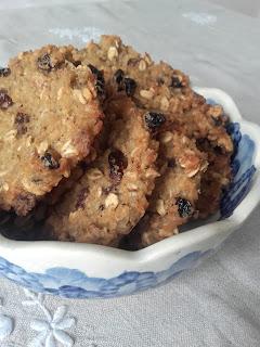 Ciastka, cookies :) ryżowe z ryżu, z bakaliami