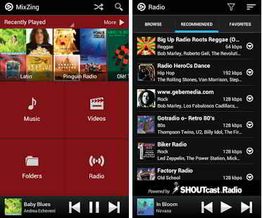 Google play musik aplikasi pemutar musik untuk memunculkan satus.