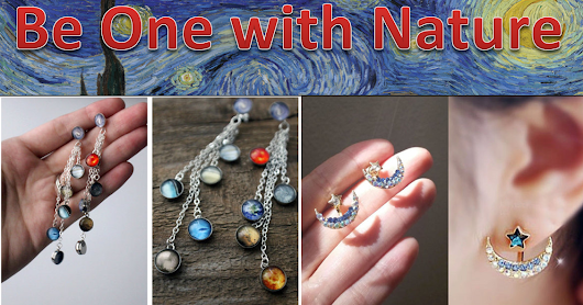 Online Jewelry Making Newsletter: Handmade Jewelry: Be One With Nature
