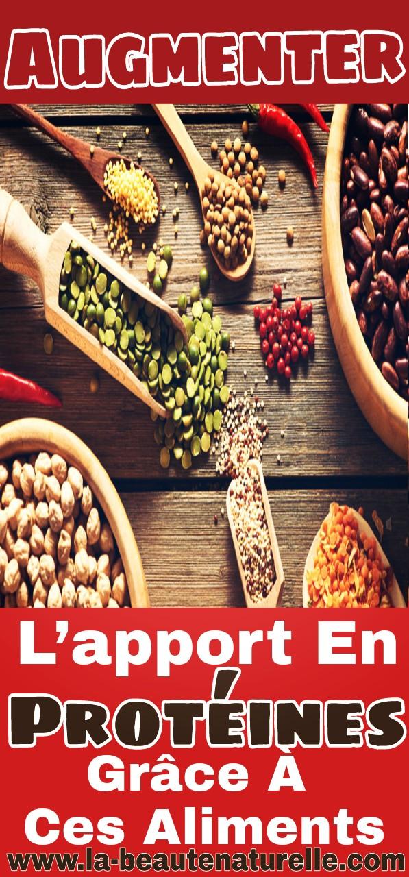 Augmenter l'apport en protéines grâce à ces aliments
