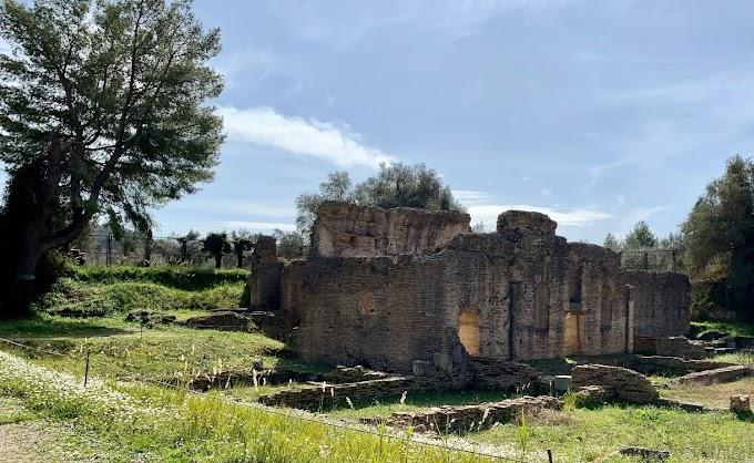 Ανάδειξη της ρωμαϊκής φάσης του αρχαιολογικού χώρου της Ολυμπίας