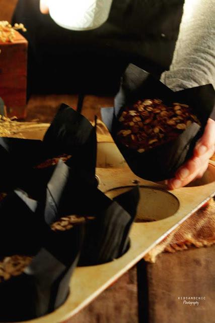 Muffins de avena y fresas al cava kidsandchic