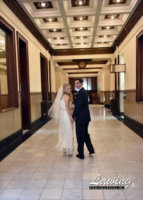 St Louis City Hall Elopement hallway