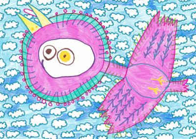 目玉焼きの鳥 [Birds of fried eggs]