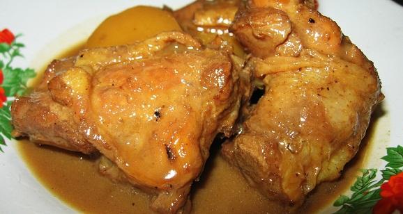 Kuliner Menu masakan GULAI SUMUR  AYAM KENTANG BALI Asli REMPAH