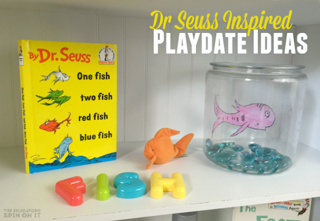 Dr Seuss Playdate Ideas for Read Across America