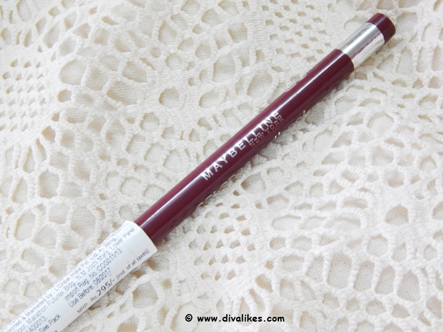 Maybelline Colorsensational Lip Liner Review