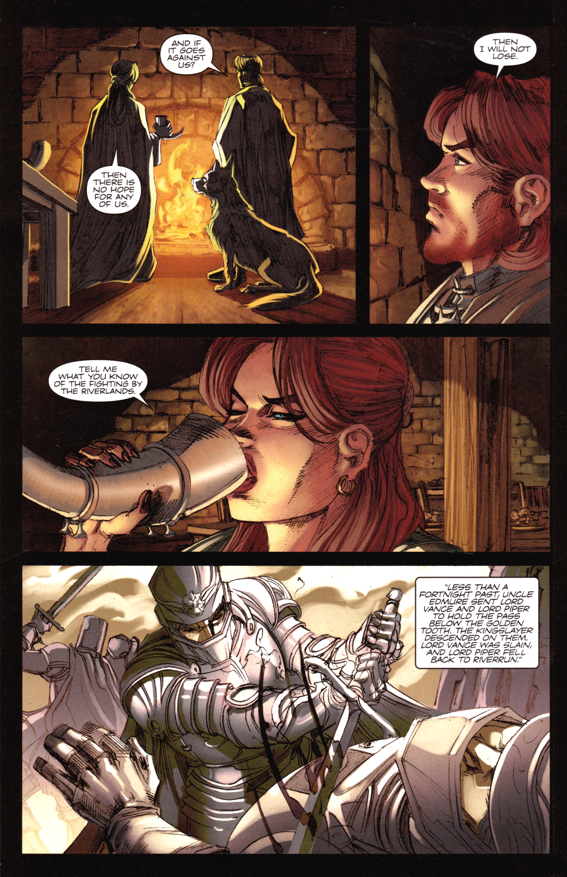 Read online A Game Of Thrones comic -  Issue #18 - 10