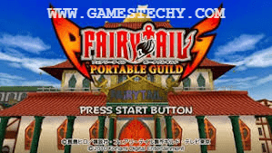 Fairy Tail Portable Guild 2 English Compressed ISO PPSSPP