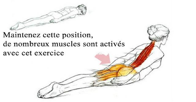 Exercice parfait et très efficace pour la mauvaise posture du corps