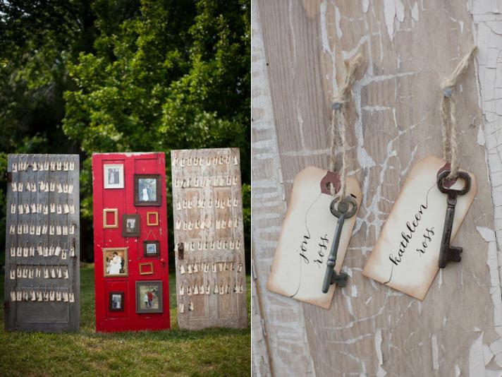 Wedding Food Ideas Get Creative I Do Knot: ~La Fete~: Vintage Escort Card Displays