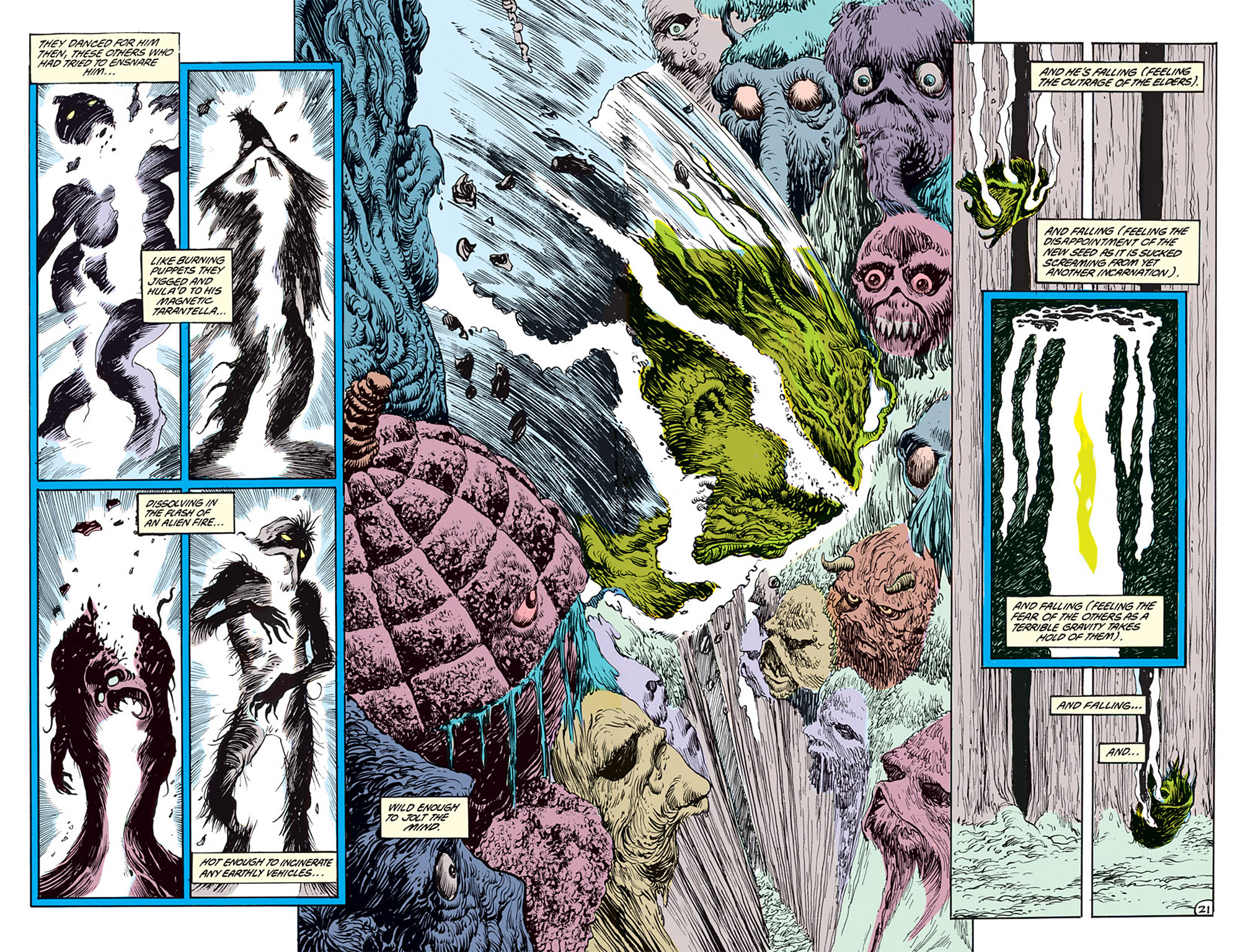 Swamp Thing (1982) Issue #69 #77 - English 16