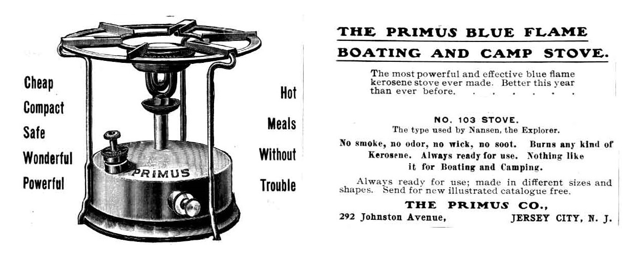 early portable kerosene stove