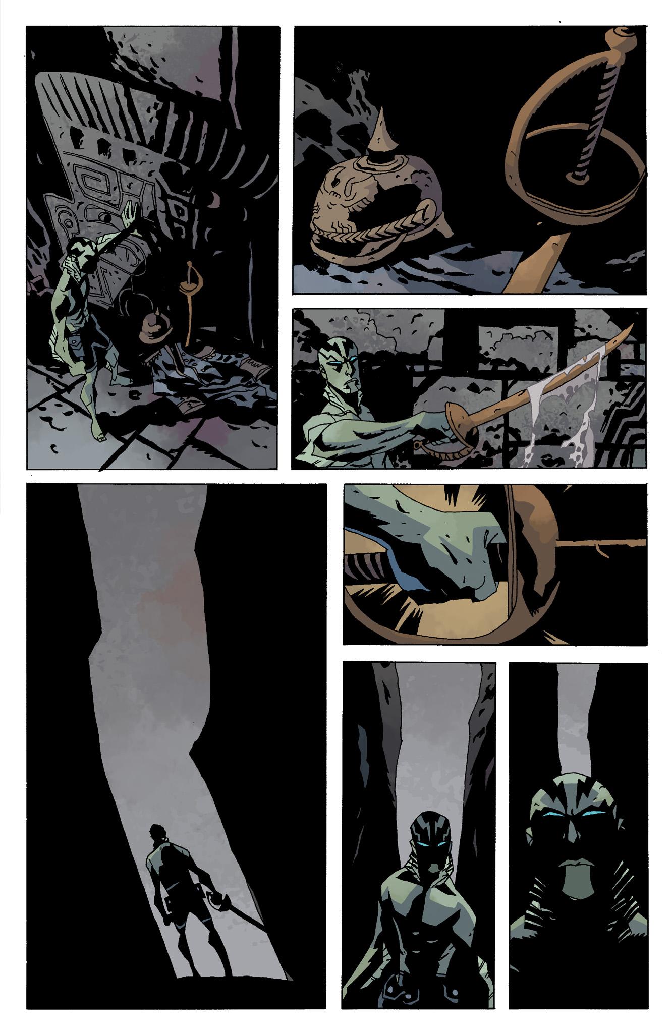 Read online Abe Sapien comic -  Issue #8 - 13