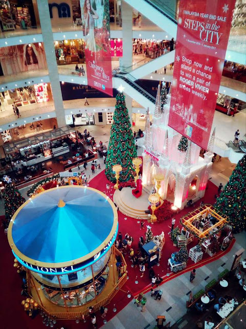 2016 Christmas decoration at Pavilion Mall Kuala Lumpur taken with Neffos C5 mobile phone.