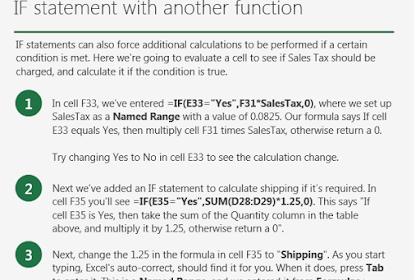 Cara Cepat Dan Praktis Belajar Excel | Fungsi IF Pada Ms Excel