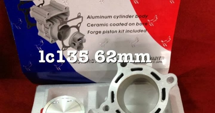 Palex Motor Parts Uma Racing Cylinder Block 54mm For Wave