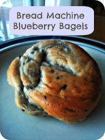Oma Socks Bread Machine Blueberry Bagels