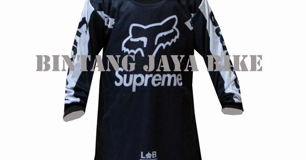 Jersey Sepeda Anak Fox Black (Rp.60.000) - BINTANG JAYA BIKE