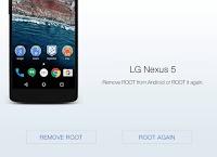 Rimuovere il root di Android con un click