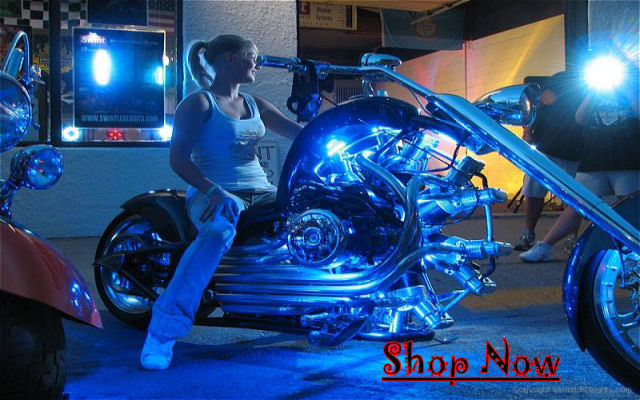 Motorcycle Led Light Bulbs And Flush Mount Led Custom Led