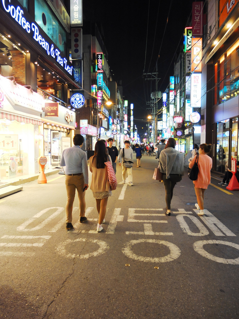 Hongdae Shopping District - Why Seoul is a Perfect City to go for a Girl's Trip