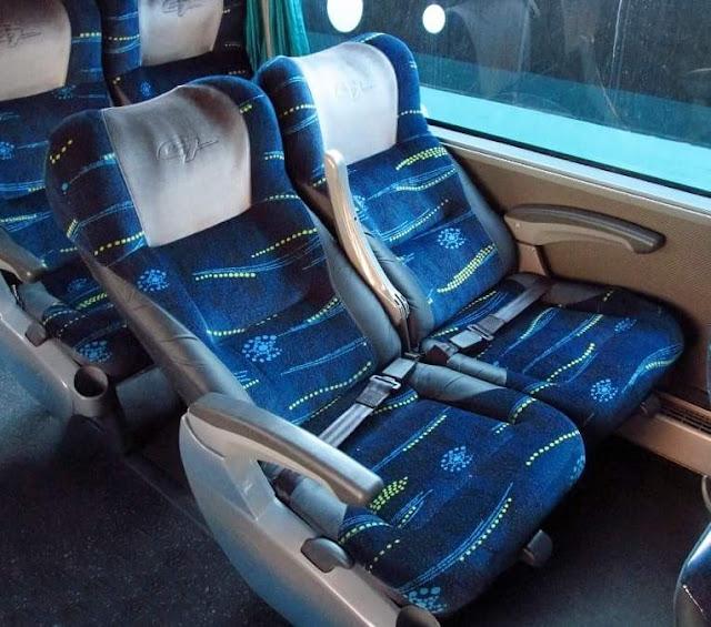 first class bus seats FDN Maya de Oro Guatemala