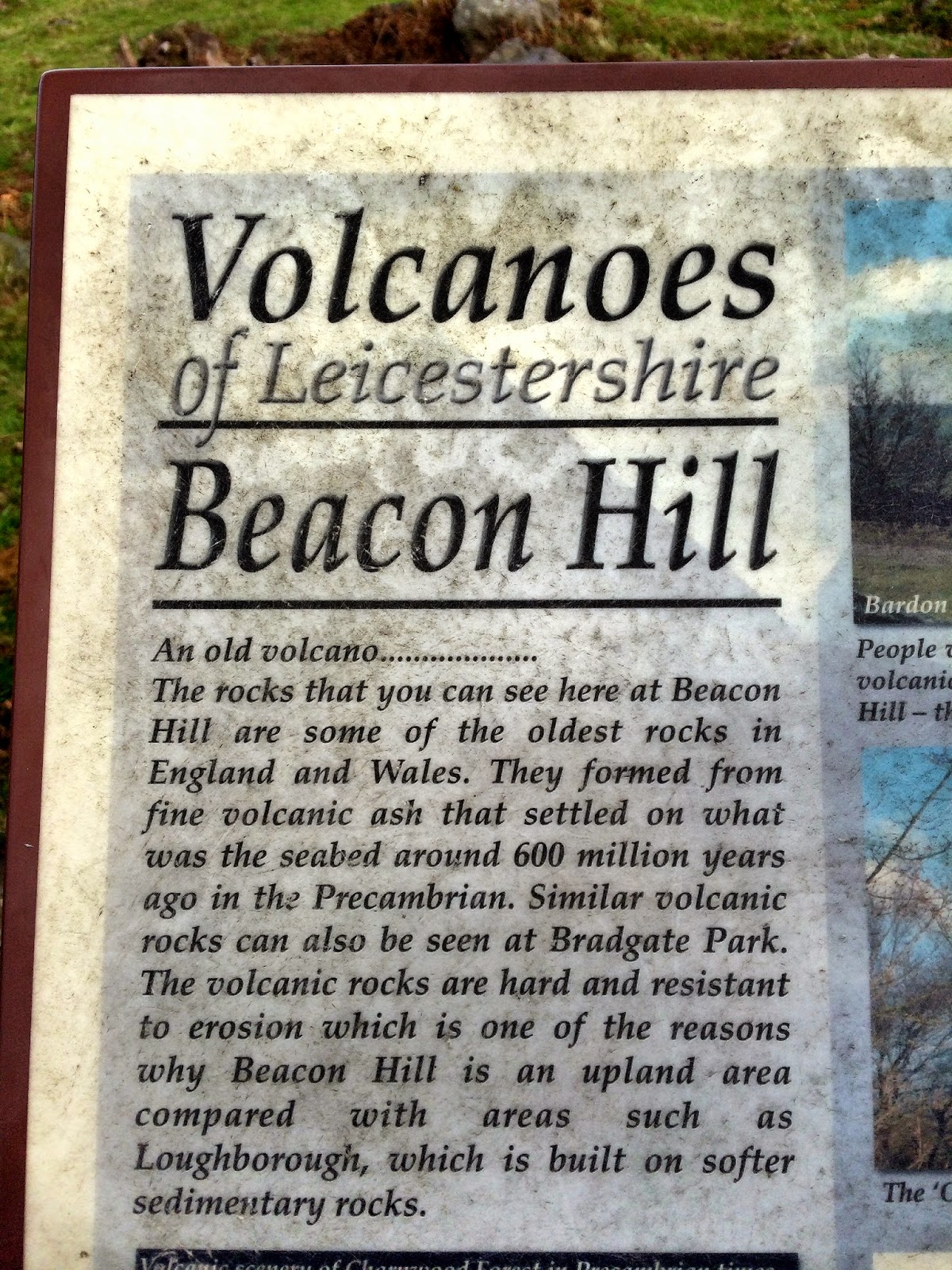 volcanoes Leicestershire