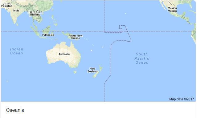 Berapakah Nama Negara yang Terdapat di Benua Australia ?