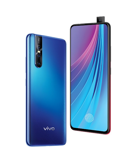 Vivo V15 Pro Launched With The World's First 32MP Pop-up Front Camera.