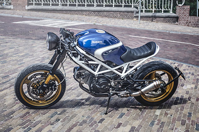 Wrench Kings Mobster Ducati Monster Cafe Racer