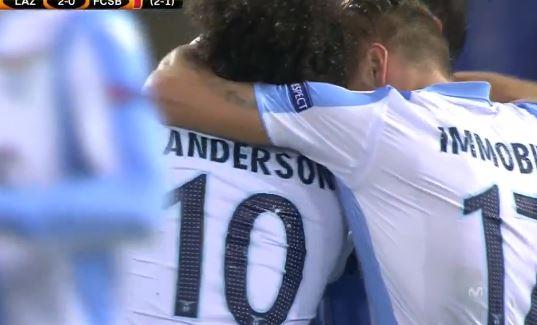 UEL Lazio-FCSB 5-1 highlights e tabellino