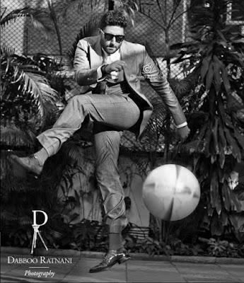 Abhishek Bachchan shoot for Dabboo Ratnani 2016 Calendar