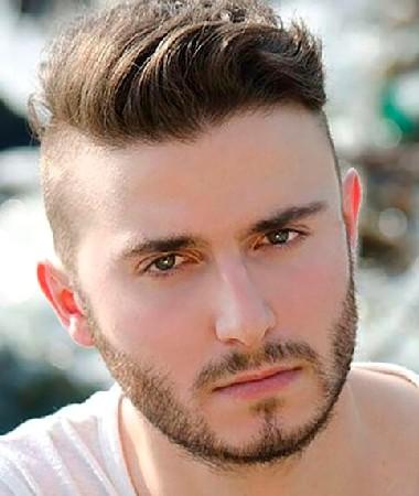Model Rambut Wajah Bulat Leher Pendek Untuk Pria